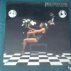 Discos de vinilo: PEACHES & HERB LP WORTH THE WAIT 1980 CON ENCARTE SOUL DISCO VG+. Lote 173209747