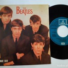 Discos de vinilo: THE BEATLES- LOVE ME DO - SPAIN PROMO 1982- VINILO EXC. ESTADO.. Lote 173211000