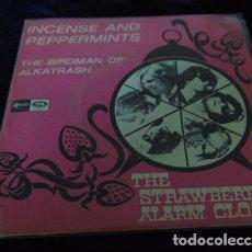 Discos de vinilo: THE STRAWBERRY ALARM CLOCK – INCENSE AND PEPPERMINTS - SINGLE ESPAÑOL 1967 PROMO. Lote 173211037
