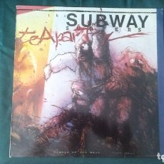 Discos de vinilo: THE SUBWAY SURFERS LP TEA PARTY 1989 PUNK VG+ RARO. Lote 173218342