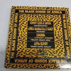 Discos de vinilo: THE BLACK SOUND OF AFRICA . Lote 173233093