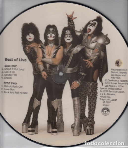 Discos de vinilo: Kiss ‎– Best Of Live - Foto 3 - 173243109