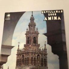 Discos de vinilo: AMINA, SEVILLANAS 2000 - LP. Lote 173251738