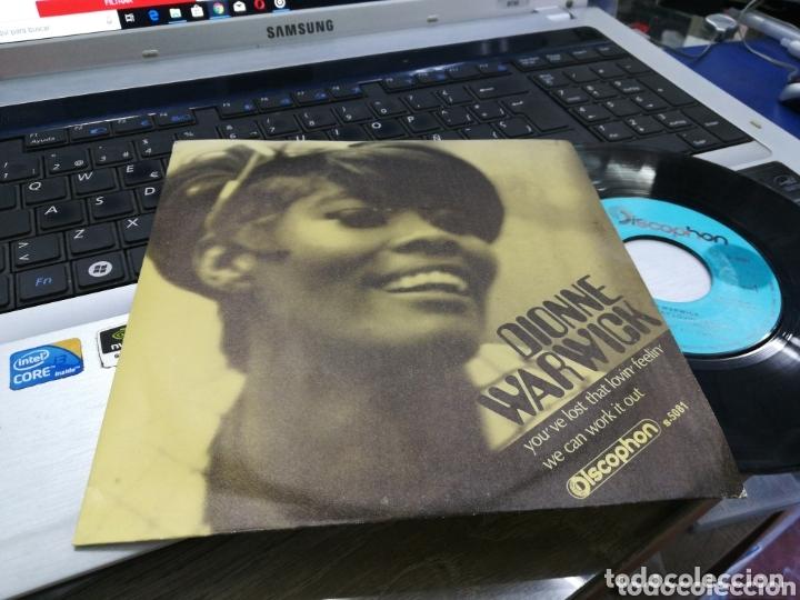 DIONNE WARWICK SINGLE YOU'VE LOST THAT LOVIN' FEELIN' ESPAÑA 1969 (Música - Discos - Singles Vinilo - Funk, Soul y Black Music)