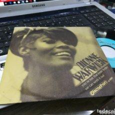 Discos de vinilo: DIONNE WARWICK SINGLE YOU'VE LOST THAT LOVIN' FEELIN' ESPAÑA 1969. Lote 173254509