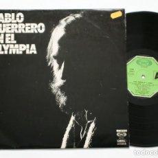Discos de vinilo: LP - PABLO GUERRERO EN EL OLYMPIA (MOVIE PLAY, 1975) . Lote 173256247