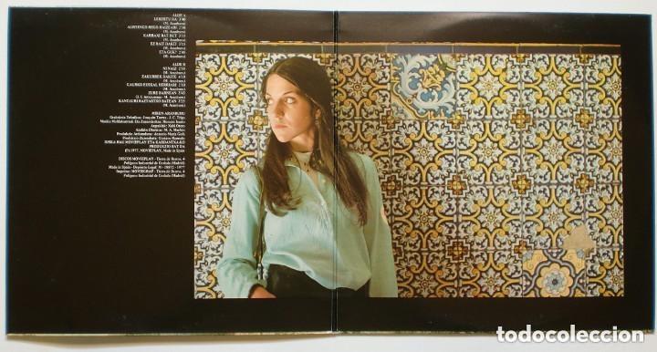 Discos de vinilo: LP: MIREN ARANBURU: Lehertu da - LP (1977) - BASQUE - FOLK // w/insert - Foto 2 - 173257679