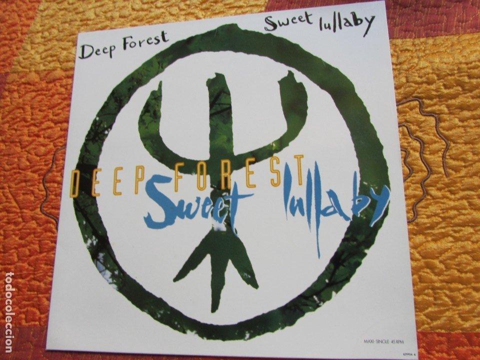 DEEP FOREST- MAXI-SINGLE DE VINILO- TITULO SWEET LULLABY- CON 5 TEMAS- ORIGINAL DEL 93- NUEVO (Música - Discos de Vinilo - Maxi Singles - Étnicas y Músicas del Mundo)
