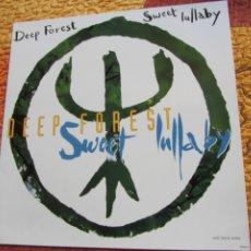 Discos de vinilo: DEEP FOREST- MAXI-SINGLE DE VINILO- TITULO SWEET LULLABY- CON 5 TEMAS- ORIGINAL DEL 93- NUEVO. Lote 173259499