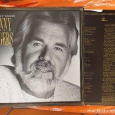 Disques de vinyle: LP - KENNY ROGERS - WE'VE GOT TONIGHT (SPAIN, LIBERTY RECORDS 1983) ENCARTE CON LETRAS. Lote 173264445