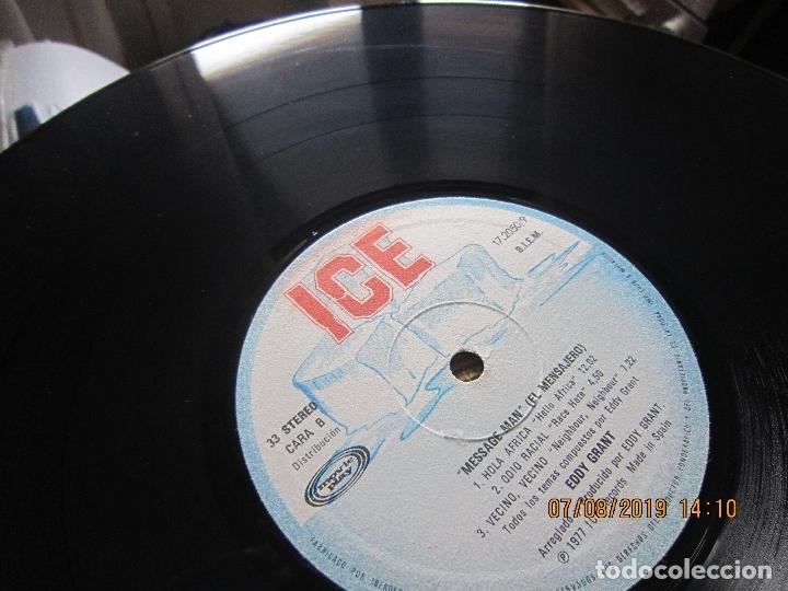 Discos de vinilo: EDDY GRANT - MESSAGE MAN LP - ORIGINAL ESPAÑOL - ICE RECORDS1980 - BUEN ESTADO - - Foto 10 - 173274517