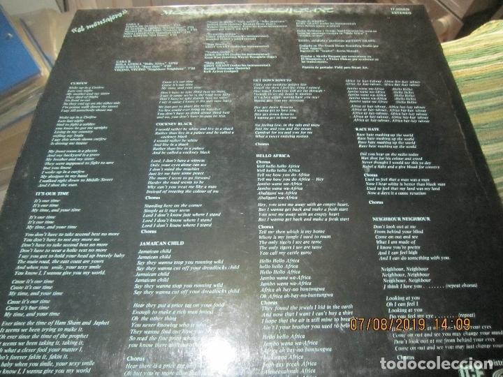 Discos de vinilo: EDDY GRANT - MESSAGE MAN LP - ORIGINAL ESPAÑOL - ICE RECORDS1980 - BUEN ESTADO - - Foto 11 - 173274517