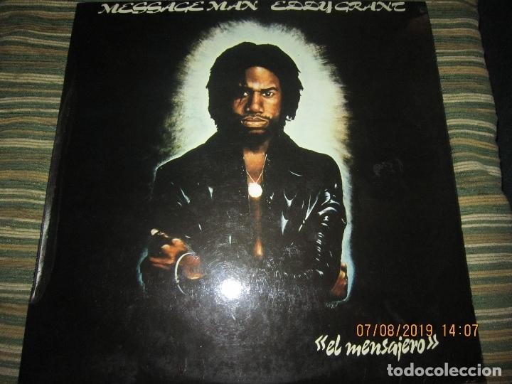 EDDY GRANT - MESSAGE MAN LP - ORIGINAL ESPAÑOL - ICE RECORDS1980 - BUEN ESTADO - (Música - Discos - LP Vinilo - Reggae - Ska)