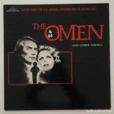 Discos de vinilo: THE OMEN. LA PROFECÍA. JERRY GOLDSMITH Y OTROS. Lote 173279293