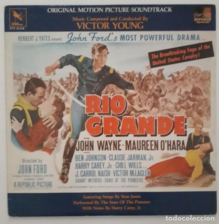 RIO GRANDE. VICTOR YOUNG. JOHN FORD (Música - Discos - LP Vinilo - Bandas Sonoras y Música de Actores )