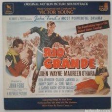 Discos de vinilo: RIO GRANDE. VICTOR YOUNG. JOHN FORD. Lote 173280944