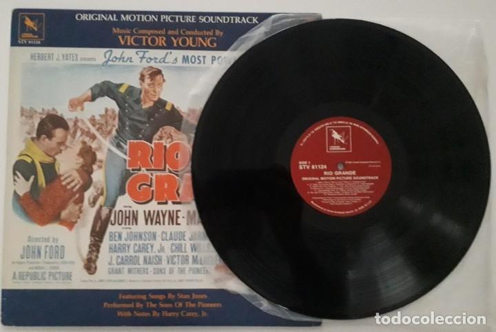 Discos de vinilo: RIO GRANDE. VICTOR YOUNG. JOHN FORD - Foto 3 - 173280944