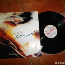 Discos de vinilo: PAUL MCCARTNEY TRIPPING THE LIVE FANTASTIC HIGHLIGHTS LP VINILO AÑO 1990 PROMO ARGENTINA THE BEATLES. Lote 173284270