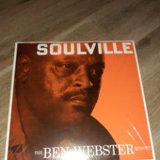 Discos de vinilo: BEN WEBSTER, SOULVILLE LP, OSCAR PETERSON, HERB HELLIS... Lote 173291180