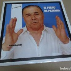Discos de vinilo: EL PERRO DE PATERNA (LP) POR FANDANGOS AÑO – 1988. Lote 173291478