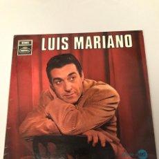 Discos de vinilo: LUIS MARIANO. Lote 173329374