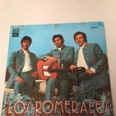 Discos de vinilo: LOS ROMERALES SEVILLANAS RUMBA RARO LP. Lote 173336194