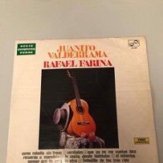 Discos de vinilo: LP - JUANITO VALDERRAMA Y RAFAEL FARINA -. Lote 173341290