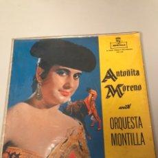 Discos de vinil: ANTOÑITA MORENO - ORQUESTA MONTILLA. Lote 173344405