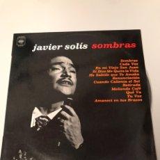Discos de vinilo: LP VINILO JAVIER SOLIS SOMBRAS. Lote 173370313