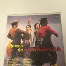 Discos de vinilo: DANZAS DE ANDALUCÍA. Lote 173377479