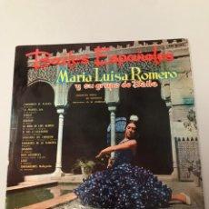 Discos de vinilo: MARÍA LUISA ROMERO BAILES. Lote 173377578