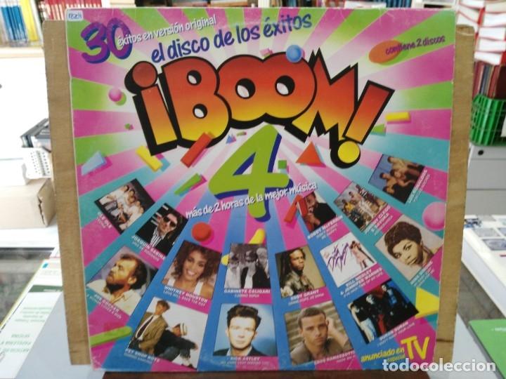¡BOOM! 4 (RECOPILATORIO) - DURAN DURAN, ILEGALES, CASAL... - DOBLE LP DEL SELLO EMI 1988 (Música - Discos - LP Vinilo - Otros estilos)