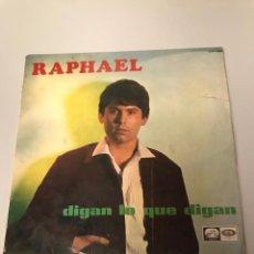 Discos de vinilo: RAPHAEL. Lote 173381130
