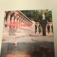 Discos de vinilo: JORGE SEPÚLVEDA. Lote 173385879