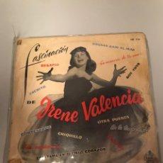 Discos de vinil: LP IRENE VALENCIA, LA VOZ DE LAS ANTILLAS : FASCINACION. Lote 173388203