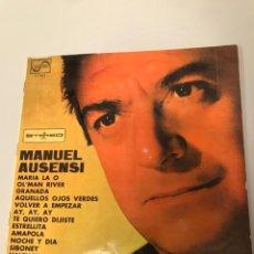 Discos de vinil: MANUEL AUSENSI. Lote 173389438