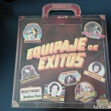 Discos de vinilo: EQUIPAJE DE EXITOS: RAINBOW, ROXY MUSIC, STATUS QUO, ETC. - LP (1981). Lote 173392313