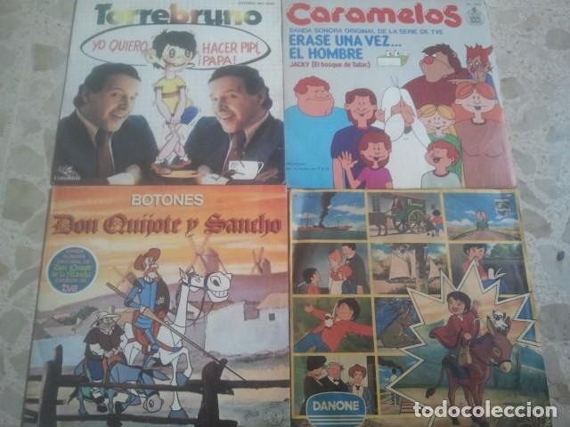 Discos de vinilo: LOTE DE DISCOS - BANDAS SONORAS SERIES Y DIBUJOS ANIMADOS TVE - 5 SINGLES - Foto 2 - 173402702
