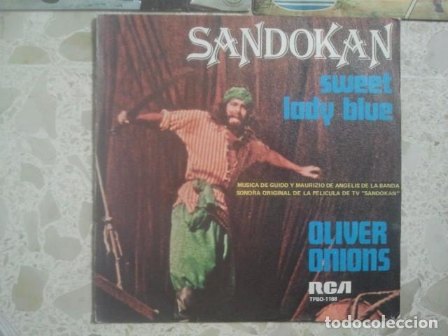 Discos de vinilo: LOTE DE DISCOS - BANDAS SONORAS SERIES Y DIBUJOS ANIMADOS TVE - 5 SINGLES - Foto 3 - 173402702