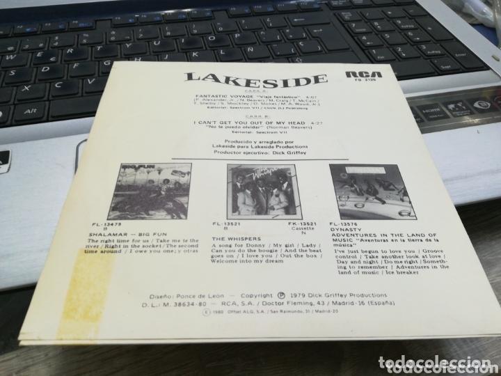 Discos de vinilo: Lakeside single promocional fantastic voyage españa 1980 - Foto 2 - 173416154