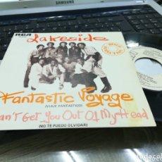 Discos de vinilo: LAKESIDE SINGLE PROMOCIONAL FANTASTIC VOYAGE ESPAÑA 1980. Lote 173416154
