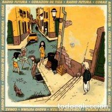 Discos de vinilo: RADIO FUTURA, CORAZÓN DE TIZA - MAXI-SINGLE ARIOLA SPAIN 1990. Lote 173417060