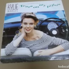 Discos de vinilo: KYLIE MINOGUE (MAXI) TEARS ON MY PILLOW +1 TRACK AÑO – 1990. Lote 173417358