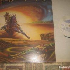 Discos de vinilo: THE GRAEME EDGE BAND FEATURING ADRIAN GURVITZ (1976-THRESHOLD)OG ENGLAND LEA DESCRIPCION. Lote 173424505