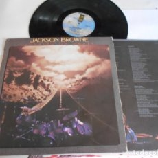 Discos de vinil: JACKSON BROWNE-LP RUNNING ON EMPTY-LETRAS. Lote 173427264