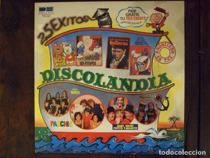 DISCOLANDIA - PERFECTO ESTADO - BELTER 1980 (Música - Discos - LPs Vinilo - Música Infantil)