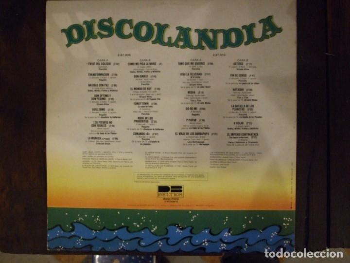 Discos de vinilo: DISCOLANDIA - PERFECTO ESTADO - BELTER 1980 - Foto 4 - 173429072