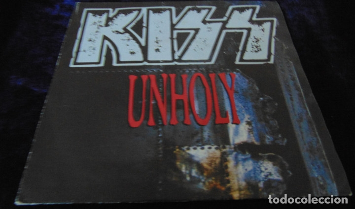 Discos de vinilo: Kiss – Unholy - SINGLE 1992 - Foto 1 - 173431159