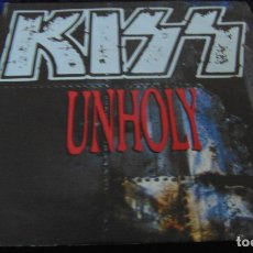 Discos de vinilo: KISS – UNHOLY - SINGLE 1992. Lote 173431159