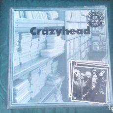 Discos de vinilo: CRAZYHEAD MAXI 1989 4 TEMAS VG+ PUNK ROCK GARAGE RARO. Lote 173431574